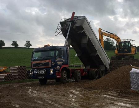 bulk topsoil removal