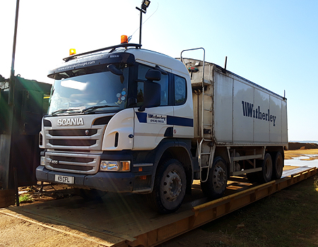 Witherley muck away vehicle